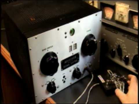 Meissner Signal Shifter Model EX Ham QRP VFO Transmitter Demo