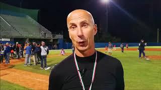 Paolo Ceccaroli dopo gara 3 della Italian Baseball Series 2017