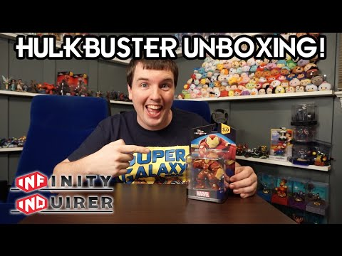 Hulkbuster Figure Unboxing for Disney Infinity 3.0 [INFINITY INQUIRER]