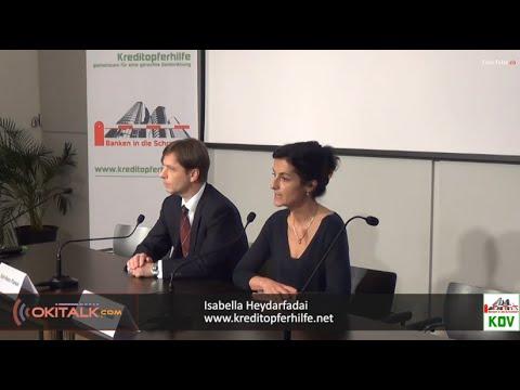 Sammelklage gegen Deutsche Bank - Kreditopferverein Pressekonferenz 20.01.2015