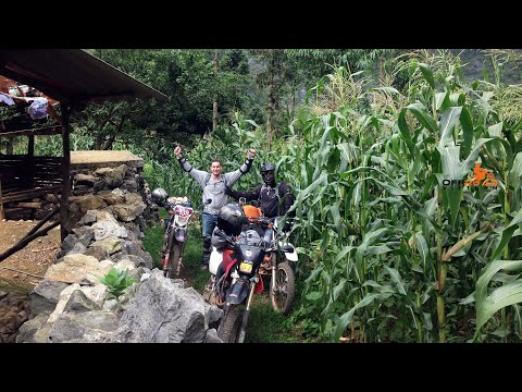 Offroad Vietnam Motorcycle Tours. Ba Be National Park track.