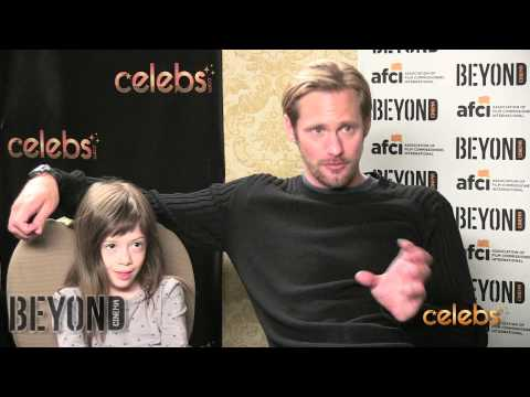 Alexander Skarsgard and Onata Aprile Talk 