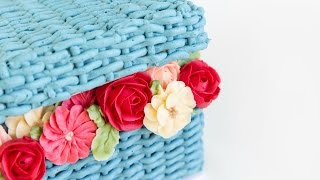 Amazing FLOWER BASKET Cake Decorating! - CAKE STYLE