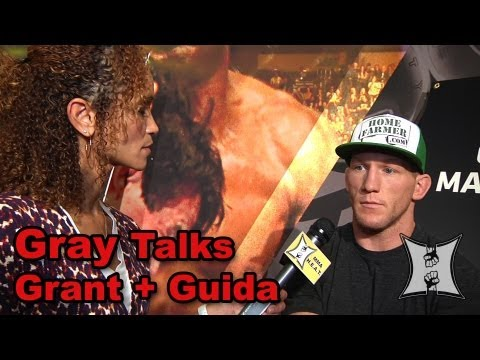 UFC 160s Gray Maynard on TJ Grant Fight AKA Camp  Infamous Clay Guida Fight