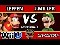 B.E.A.S.T 5 - Leffen (Diddy) Vs. J.Miller (Luigi) - Smash 4 Losers Final