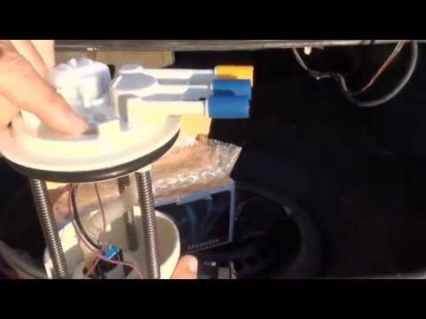 How to install a fuel pump on grand prix gtp