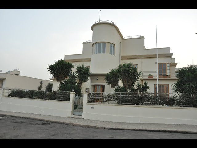 View of the recently opened Ethiopian embassy in Asmara