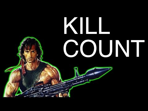 FILM COUNTS - Sylvester Stallone Kill Count