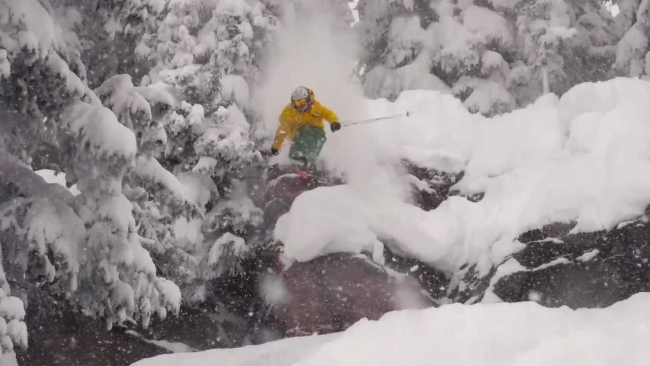 Vail powder and cliff drops in northwoods youtube for Chair 4 cliffs vail