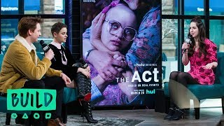 "Joey King & Calum Worthy Discuss The New Hulu Series, ""The Act"""
