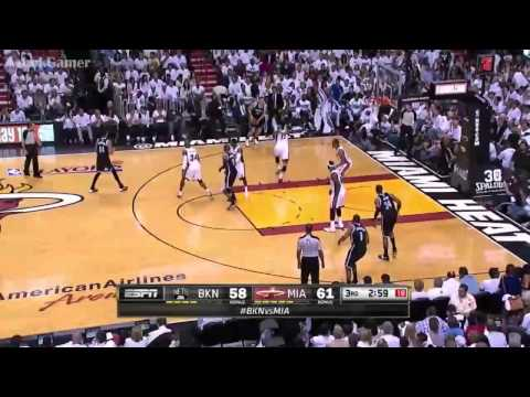 Brooklyn Nets vs Miami Heat - Game 2 Highlights - NBA Playoffs 2014