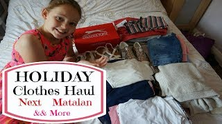 ⛅ HOLIDAY CLOTHES HAUL for kids | Next, Dottie Lottie, Debenhams...