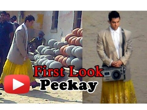 Aamir Khans First Look Of Peekay(P.K) Film Revealed ! HD