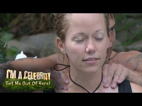 Jake Gives Kendra A Steamy Massage In The Hot Tub | I'm A Celebrity...Get Me Out Of Here!