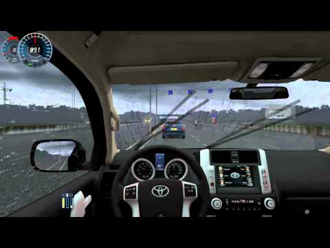 City Car Driving - Toyota Land Cruiser Prado + (Download link!)