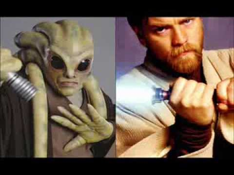Versus Series: Kit Fisto Vs Obi-Wan Kenobi