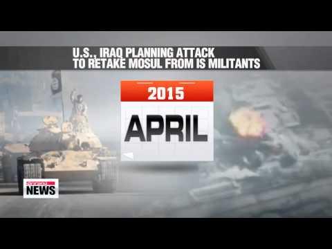 Iraq-Kurdish troops gearing up to retake Mosul from Islamic State group   미국 &qu