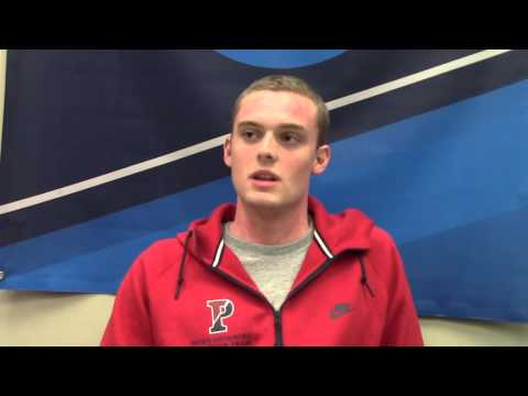 Chris Swanson, Penn (after day four finals)