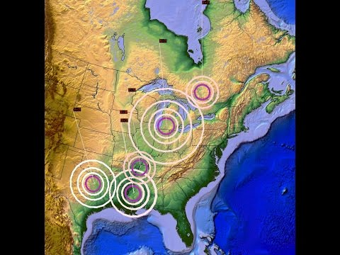 5/03/2015 -- Major Earthquake activity in the United States -- Michigan, Mississippi, Texas