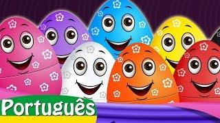 Ovos Surpresa Com Brinquedos Vida Selvagem | Animais Selvagens | ChuChu TV Português