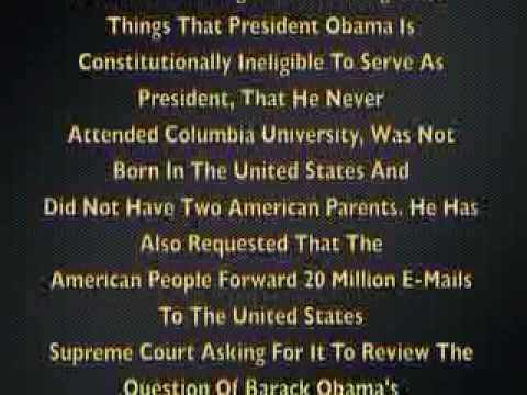 Conversate In The AM Columbia Obama Treason Trial Part 1