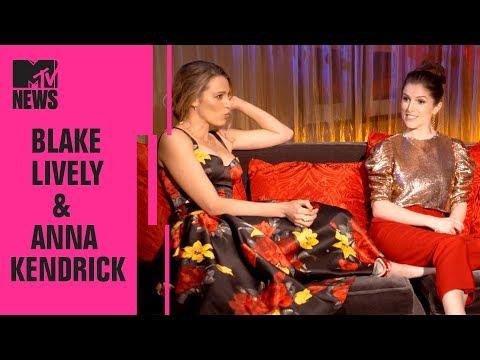 Blake Lively & Anna Kendrick Play 'ID the Tweet'   CinemaCon   MTV News