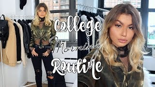 COLLEGE MORNING ROUTINE IN NYC 2017 | Paige Secosky