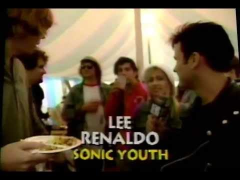 Sonic Youth at the Reading Festival on 120 Minutes (1991)