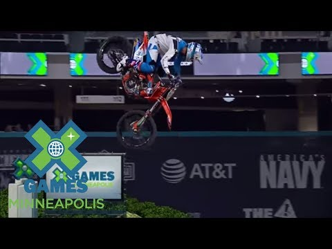 Destin Cantrell wins Moto X Best Whip gold | X Games Minneapolis 2017