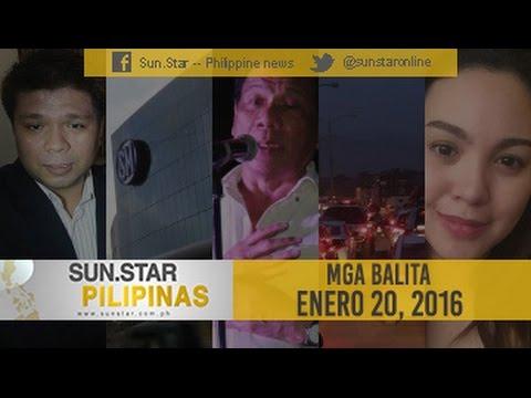 Sun.Star Pilipinas January 20, 2016
