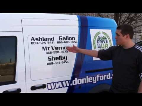 Donley Auto Group explains Drive 4 UR Community Events using the Ashland Christian School Event