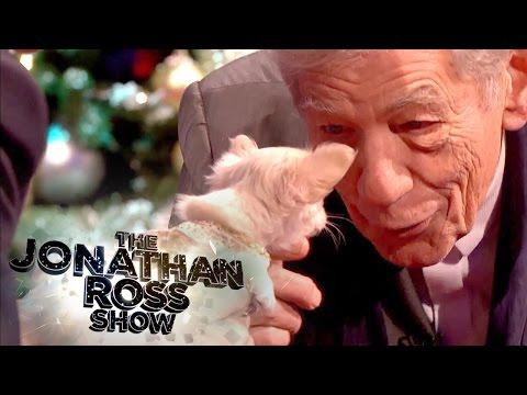 Sir Ian McKellen Meets Chihuahua Puppy - The Jonathan Ross Show