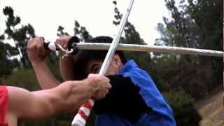 Brendon Huor vs. Seth Austin (Sword of the Stranger Anime Style Fight)