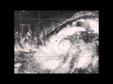 "Typhoon Sanba "" Karen"" brings heavy rains to the Philippines and sets eyes on Okinawa"