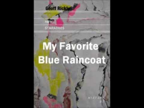 Geoff Rickly- Favorite Blue Raincoat (with lyrics)