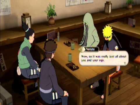Naruto Shippuden: Ultimate Ninja Storm 2: Friendship Event #10 (Naruto, Shino, K