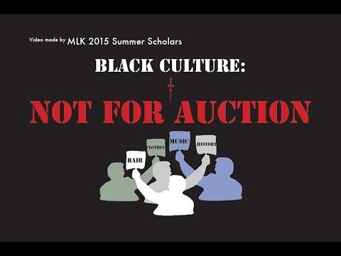 Black Culture: Not for Auction