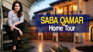 Saba Qamar Home Tour And Some Secrets | Best Pakistani Dramas