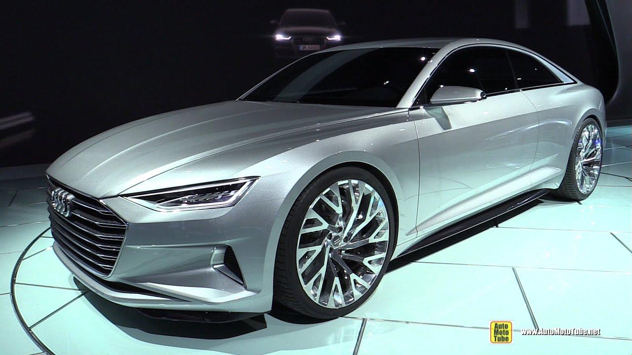 2016 Audi A9 Prologue Concept - Exterior Walkaround - 2014 ...
