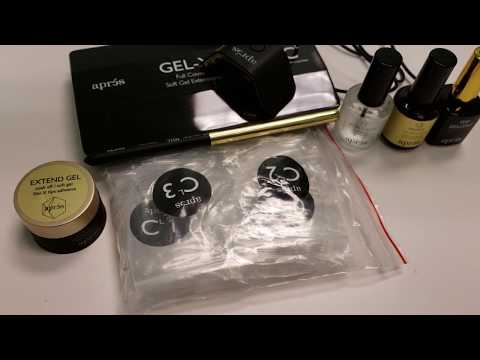 APRES GEL-X SOFT GEL EXTENSION KIT   FULL REVIEW   FIRST IMPRESSIONS