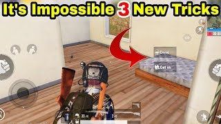 It's Impossible ! 3 New PUBG Mobile Tricks 2019 || 0.00% People Know This