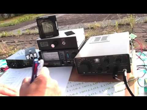 ALL JA CONTEST with QRP Rigs