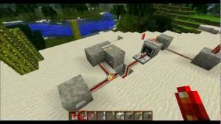 Minecraft, toggle button, Button als Schalter