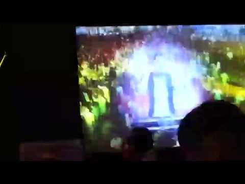Dj Abhishek Live  new Year Event  Tandav 2014 (pancard Clubs Pune) video
