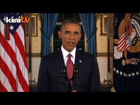 Obama ikrar buru militan IS di Syria, Iraq