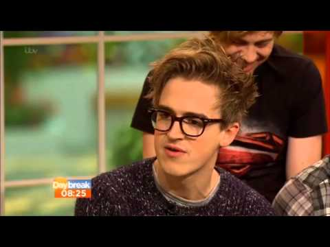 Mcbusted - Tom, Danny, Dougie, Harry, James, Matt Live Interview Daybreak - 15th November 2013 video