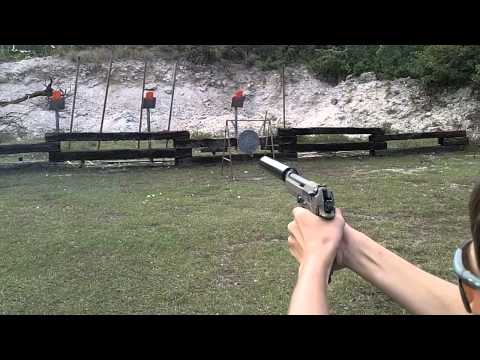 Tactical Firearms Academy suppressed Beretta 92FS w/Gemtech Vortex