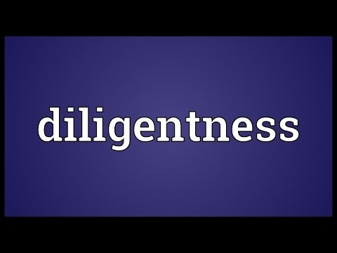 Header of diligentness