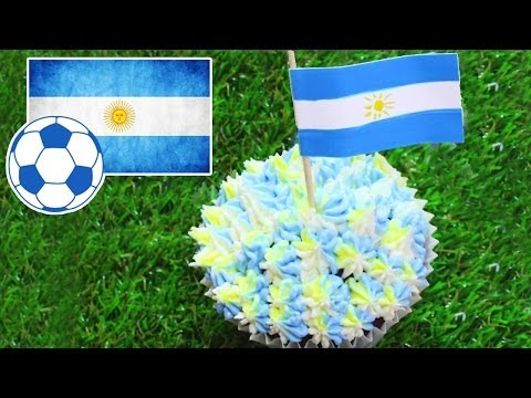 Fifa World Cup 2014 Recipes   World Cupcake Argentina