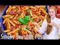 Smoky Pepper & Sausage Pasta Skillet